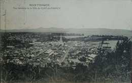 O) MARTINIQUE, POSTAL CARD OF FORT OF FRANCE   - LANDSCAPE, POSTAL CARD XF - Martinique (1886-1947)