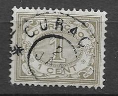 1904 USED Curaçao Gestempeld. - Curacao, Netherlands Antilles, Aruba