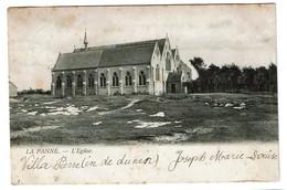 La Panne - L'Eglise - Circulée - Edit. Th. Van Den Heuvel -  2 Scans - De Panne