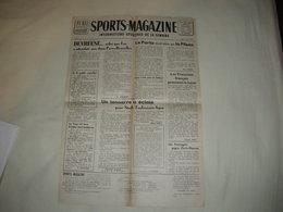 Publi Sport SPORTS MAGAZINE No 4 Avec Supplem 6 Photos JANY Et CERDAN Roller Catch Sterckx PARIS BRUXELLES. PUC BASKET - Journaux - Quotidiens