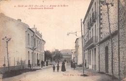 66 - Ille-sur-Tet - La Gendarmerie - Avenue De La Gare Animée - France