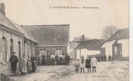 CPA Condé-Folie - Route D'Amiens 1922 - France