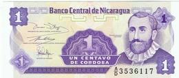 NICARAGUA - 1 CENTAVO DE CORDOBA - NEUF - Nicaragua