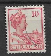 1915 USED Curaçao Gestempeld. - Curacao, Netherlands Antilles, Aruba