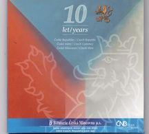 Neuf Rare Coffret Serie 9 Pieces Officiel Couronne République Tchèque Annee 2003 Édition Spéciale 10 Ans De La Banque Éd - Czech Republic