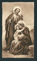 EB 238 - SANTINO SEPPIA:  LA SACRA FAMIGLIA -  Mm. 56x100 (circa)  - E - Religione & Esoterismo