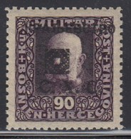 Yugoslavia SHS Issue For Bosnia 1919 Definitive, Perforation 11½, MNH (**) Michel 45 B - Ungebraucht