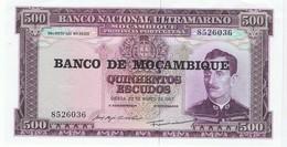 MOZAMBIQUE - 500 ESCUDOS - NEUF - Mozambique