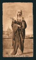 EB 244 - SANTINO SEPPIA:  S. CATERINA DI SIENA -  Mm. 56x100 (circa)  - E - Religion &  Esoterik