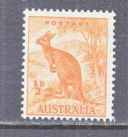 AUSTRALIA  166  Perf  15 X 14  **  1937 Issue - 1913-48 Kangaroos