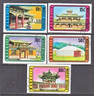 MONGOLIA  802-6   (o)    ARCHITECTURE - Monuments