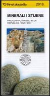 Croatia 2018 / Minerals And Rocks / Prospectus, Leaflet, Brochure - Croatie