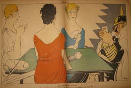 1918 La Baïonnette Les Cartes à Jouer - WWI Satirique - Illus. De Georges Villa Paul Iribé Henry Fournier Gus Bofa.... - Livres, BD, Revues