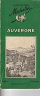 Guide Du Pneu Michelin Auvergne 1953-1954 - Michelin (guides)