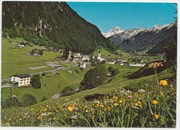 Ferienort GASCHURN Im Montafon, 980 M, Vorarlberg, Austria, 1977 Used Postcard [22016] - Gaschurn