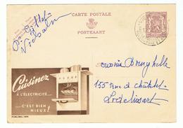 Publibel 905 - CUISINEZ A L'ELECTRICITE  (150) - Enteros Postales