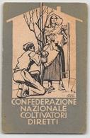 """07570 """"CONFEDERAZIONE GENERALE COLTIVATORI DIRETTI - N° 240014"""" TESSERA ASSOCIATIVA ORIGINALE 1946 - Organisations"""