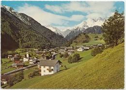Sommerfrische Pragraten, Gegen Umbaltal Und Malhamgruppe, Osttirol, Austria, Used Postcard [22018] - Prägraten
