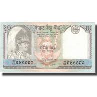 Billet, Népal, 10 Rupees, Undated (1985-87), KM:31a, SUP - Népal