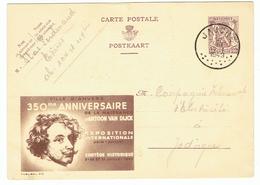 Publibel 872 - Antoon Van Dyck - (155) - Enteros Postales