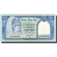 Billet, Népal, 50 Rupees, KM:33a, SUP - Népal