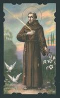 ED. NB - NR. R./3086 - S. FRANCESCO D'ASSISI - Mm 60 X 105 - E - LATI FUSTELLATI - Religion & Esotérisme