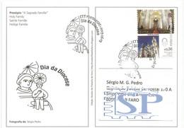 Dia Da Diocese Portalegre Rota Das Catedrais 2013 Mundifil N.º 4351 Santo António Saint - Cristianismo