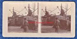 Photo Ancienne Stéréo - ROUEN - Soldats Britanniques Au Port Chargement D'un Cheval - TOP - British Army Royal WW1 Grue - Guerre, Militaire