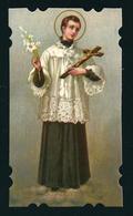 ED. NB - NR. R./3016 - S. LUIGI GONZAGA - Mm 60 X 105 - E - LATI FUSTELLATI - Religion & Esotérisme