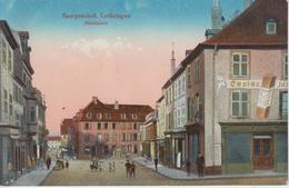 CPA Saargemünd (Sarreguemines) - Marktplatz (avec Petite Animation) - Sarreguemines