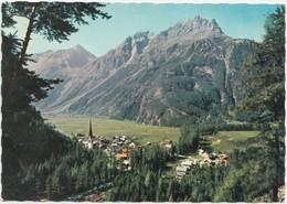 LANGENFELD Im Otztal, 1175 M, Tirol, Austria, 1961 Used Postcard [22026] - Längenfeld