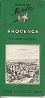 Guide Du Pneu Michelin Provence 1953-54 - Michelin (guides)