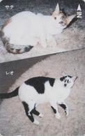 RARE Télécarte Japon / 110-011 - ANIMAL - CHAT Chats - CAT Japan Phonecard - KATZE  GATTO  GATO - KAT - 4784 - Katten