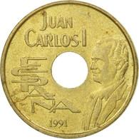 Monnaie, Espagne, Juan Carlos I, 25 Pesetas, 1991, Madrid, TB+, Aluminum-Bronze - [ 5] 1949-… : Royaume