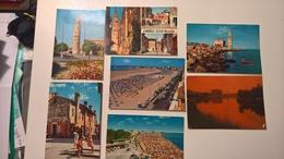 Set Lotto 7 Cartoline CAORLE FG 4 V Madonna Angelo Porto Margherita Falconara - Otras Ciudades