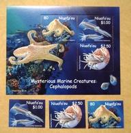 NIUAFO`OU, Tonga, MARINE CREATURES,  CRÉATURES MARINES (lot 207) - Tonga (1970-...)