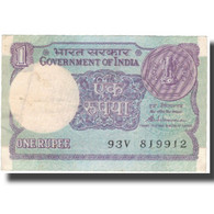 Billet, Inde, 1 Rupee, 1981, 1981, KM:78a, TTB - Inde
