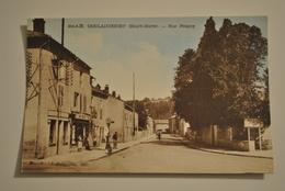 52 Haute Marne Doulaincourt Rue Pougny Pompe A Essence Station Service - Doulaincourt