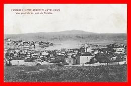 CPA METELIN (Grèce)   Vue Générale Du Port, Navires De Guerre ...CO1504 - Grecia