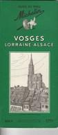 Guide Du Pneu Michelin Vosges Lorraine Alsace 1953-54 - Michelin (guides)