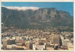 CAPE TOWN, KAAPSTAD, The City And Table Mountain, 1957 Used Postcard [22039] - South Africa