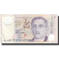 Billet, Singapour, 2 Dollars, Undated (1999), KM:38, TTB - Singapour