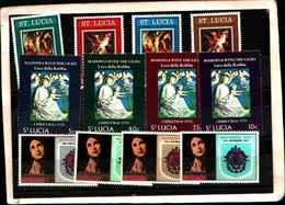 73287)  SANTA LUCIA-LOTTO FRANCOBOLLI -MNH** - St.Lucia (1979-...)