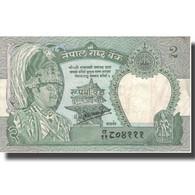Billet, Népal, 2 Rupees, KM:29b, TTB+ - Népal