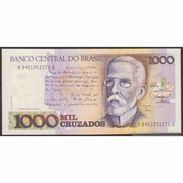 TWN - BRAZIL 213b - 1000 1.000 Cruzados 1988 Various Series - Signatures: Da Nobrega & Camões UNC - Brasile