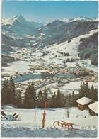 Austria, Wintersportplatz Kirchberg In Tirol, Gegen Rettenstein, 1980 Used Postcard [22044] - Kirchberg
