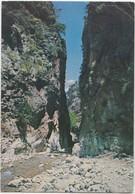Greece, CRETE - CANEA, The Ravine Of Samaria, Used Postcard [22045] - Greece
