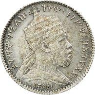 Monnaie, Éthiopie, Menelik II, Gersh, 1903 (EE 1895), Paris, SPL, Argent, KM:12 - Ethiopia