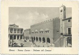 W441 Rimini - Piazza Cavour - Palazzo Del Comune / Non Viaggiata - Rimini