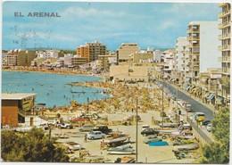 EL ARENAL, Mallorca, Spain, 1972 Used Postcard [22053] - Mallorca